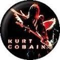 Button Kurt Cobain wings