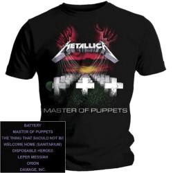 T-Shirt Metallica master of