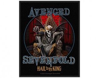 Aufnäher Avenged Sevenfold the king