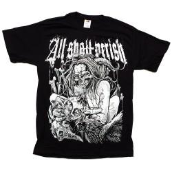 T-Shirt All Shall Perish bird flu