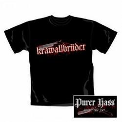T-Shirt Krawall Brüder purer hass