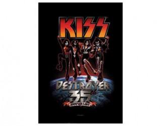 Textil Poster Kiss 35th anniversary