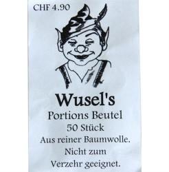 Wusel`s Portionen Beutel