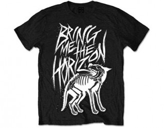 T-Shirt Bring me the Horizon wolf  bones