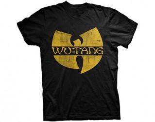 T-Shirt Wu Tang Clan logo