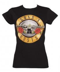 Girlie Shirt Guns N Roses guns logo
