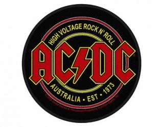 Aufnäher AC/DC high voltage