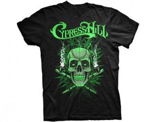 T-Shirt Cypress Hill skull pipes