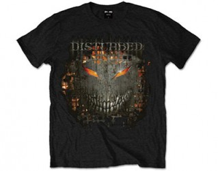 T-Shirt Disturbed fire behind