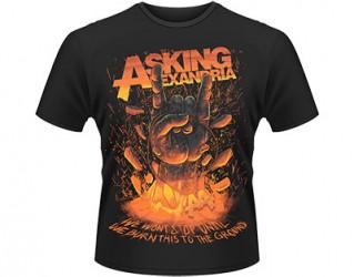T-Shirt Asking Alexandria metal hands