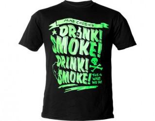 Mad Caddies drink smoke