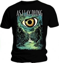 T-Shirt As i Lay Dying blue eye