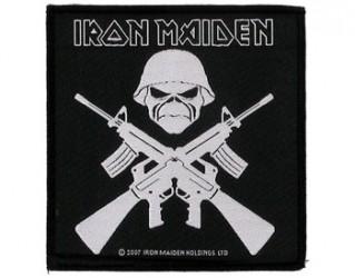 Aufnäher Iron Maiden crossed
