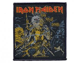 Aufnäher Iron Maiden live after