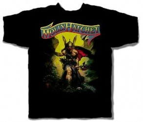 T-Shirt Molly Hatchet flirtin