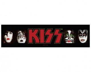 Aufnäher Kiss faces
