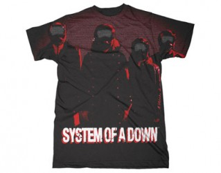 T-Shirt System of a Down science