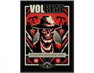 Aufnäher VOLBEAT ghoul frame