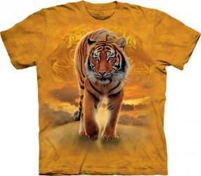Kinder T-Shirt Laufender Tiger