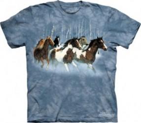 Kinder T-Shirt Pferd