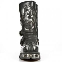 New Rock Drache/Flammen Boot