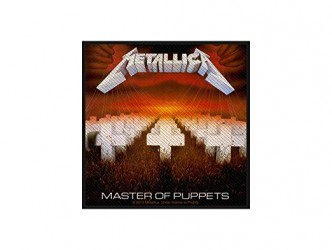 Aufnäher Metallica master of