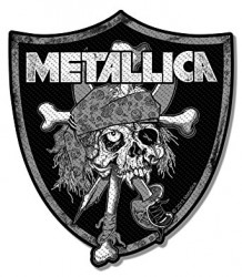 Aufnäher Metallica Raiders
