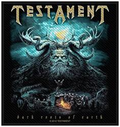 Aufnäher Testament dark roots