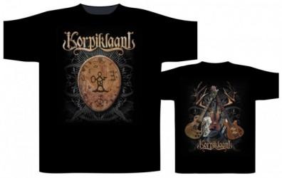 T-Shirt Korpiklaani Shaman drum