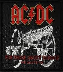 Aufnäher AC/DC for those