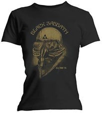 Girlie Shirt Black Sabbath never say die