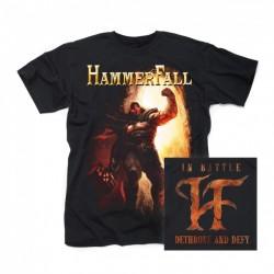 T-Shirt Hammerfall in battle