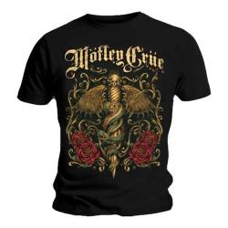 T-shirt  Mötley Crüe Dagger