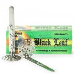 Black Leaf Hänge Sieb