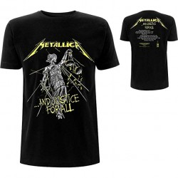 T-Shirt Metallica And Justice