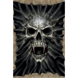 Textilposter Skull