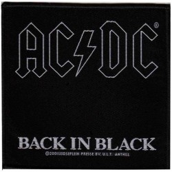 Aufnäher AC/DC Back in..