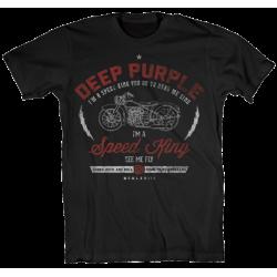 T-Shirt Deep Purple Speed King