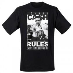 T-Shirt Johnny Cash Rules