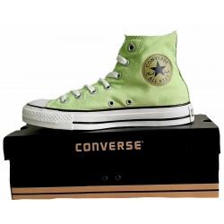 Converse Hellgrün