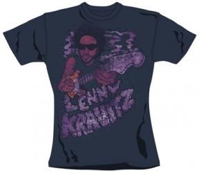 Girlie Shirt Lenny Kravitz smoke