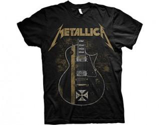 T-Shirt Metallica guitar