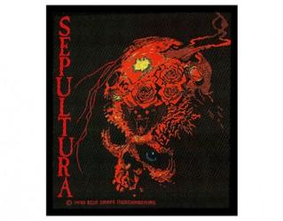 Aufnäher Sepultura skull
