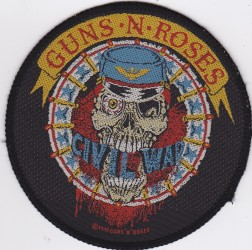 Aufnäher Guns N Roses civil