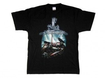 T-Shirt Black Messiah Death Viking