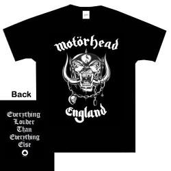 T-Shirt Motörhead england