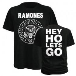 T-Shirt Ramones  hey ho