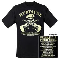 T-Shirt Mudvayne guerilla