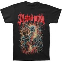 T-Shirt All Shall Perish chains