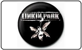 Button Linkin Park stencil